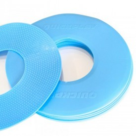 Blue Flat Markers x 10