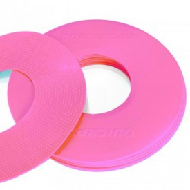 Pink Flat Markers x10