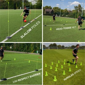 Pro Speed & Agility Set + 5 baseweights