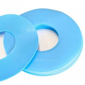 Blue Flat Markers x10