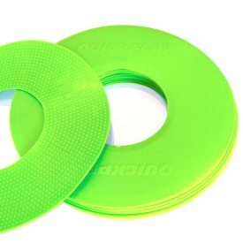 Neon Green Flat Markers x10