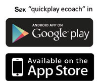 Quickplay eCOACH App in the app stores